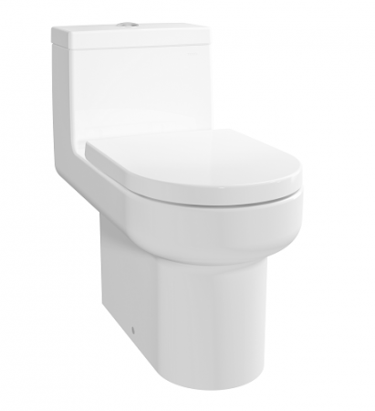 TOTO 自由咀連體座廁配油壓廁板  (CW895PJ)