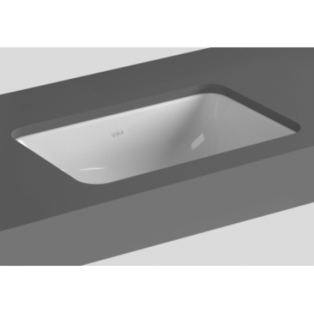 VitrA S20長方形台下面盆(5474b003-0618)