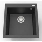Elleci Quadra102黑色花崗岩廚房台上石盆470x500mm(Quadra102T)