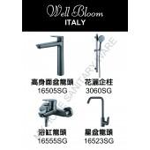 Well Bloom Italy 165系列太空灰色4件龍頭優惠套裝 (4SET165ASG)