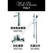 Well Bloom Italy 熱賣300系列不銹鋼拉絲龍頭套裝(300WL2)