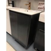 黑色不銹鋼面盆連櫃550Wx860Hx400D(BS55405540PB)