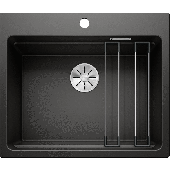 Blanco Germany ETAGON 6 黑色花崗岩廚房石盆(525890) 600mm x 510mm
