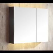 鏡面不銹鋼雙門鏡櫃600X600mm (MC-6060)