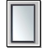 Well Bloom黑色不銹鋼框鏡500X900MM(MI-5090-Y14)