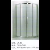 鋁合金扇形對開趟門 (LR04)