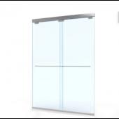 EAGLE BFN不銹鋼無企框緩衝雙趟門 (BFN-F01)