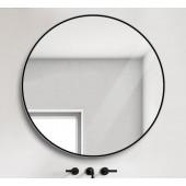黑框圓形鏡 700mm (TT700)