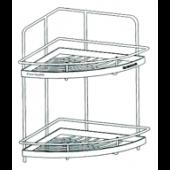 IDECOR不鏽鋼雙層廚房角架(C3561)