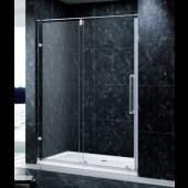 EAGLE 無框底轆一梗一趟浴屏 (XAL-F01)