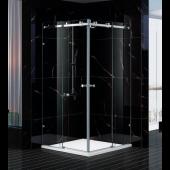 EAGLE 無框頂轆玻璃浴屏對角趟 (XEL-L01)
