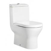 ROCA ATIS 自由咀連體座廁配油壓廁板(349617)