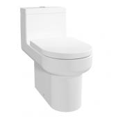 TOTO 12寸地去水連體座廁配油壓廁板  (CW895J)
