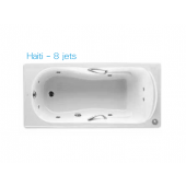 ROCA Haiti 1.5m浴缸連8噴咀按摩系統(8JET233250)