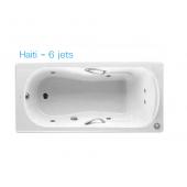 ROCA Haiti 1.5m浴缸連6噴咀按摩系統(6JET233250)