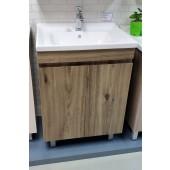 啡木紋不銹鋼面盆連櫃600Wx860Hx460D(BS25036046B)