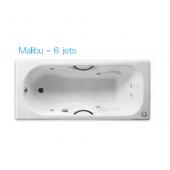 ROCA Malibu 1.6m浴缸連6噴咀按摩系統(6JET231070)