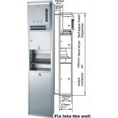 GEISAR 自動乾手機及出紙機連廢紙箱(GSG82-25S)