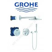 Grohe入牆式圓形恆溫淋浴套裝(34705)